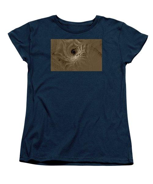 Desert Etching Women's T-Shirt (Standard Cut) by GJ Blackman