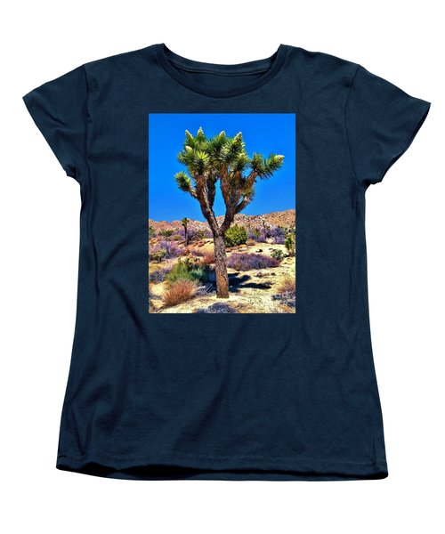 Desert Spring Women's T-Shirt (Standard Cut) by Angela J Wright