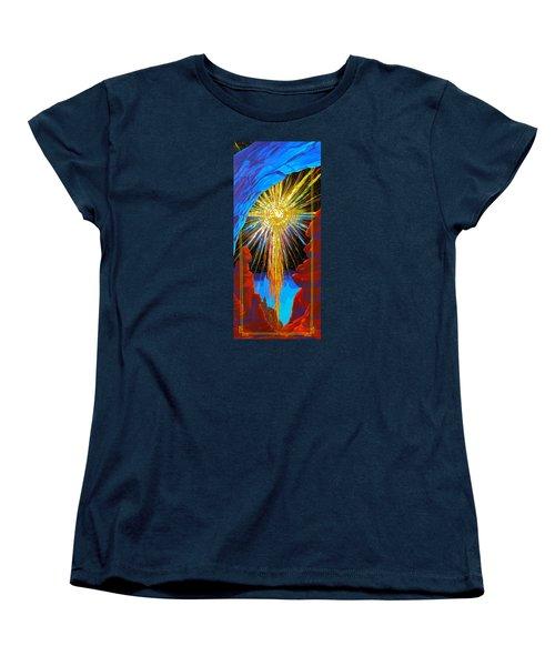 Desert Star  Women's T-Shirt (Standard Cut) by Alan Johnson
