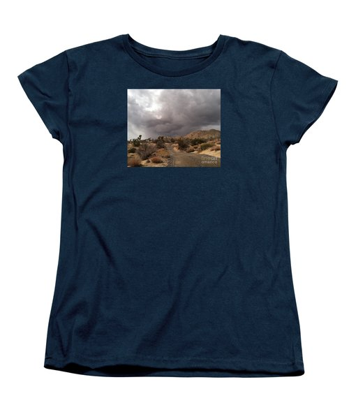 Desert Storm Come'n Women's T-Shirt (Standard Cut) by Angela J Wright