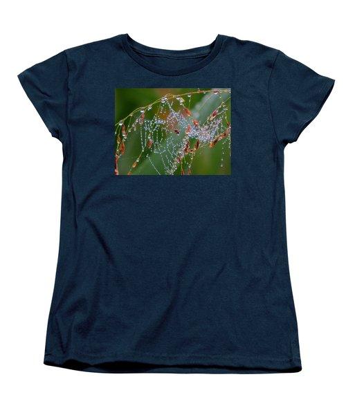 Women's T-Shirt (Standard Cut) featuring the photograph Dewdrop Inn by Dianne Cowen