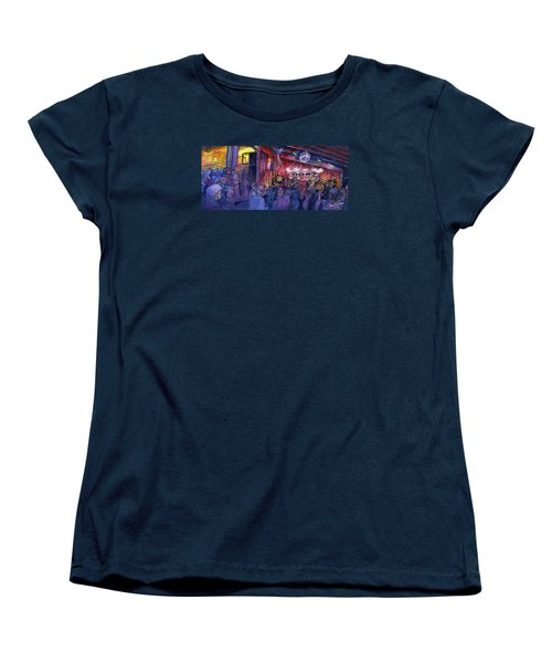 Dewey Paul Band At The Goat Women's T-Shirt (Standard Cut)