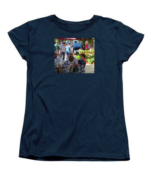 Women's T-Shirt (Standard Cut) featuring the photograph Did You Say You Went On Vacation? by Tina M Wenger