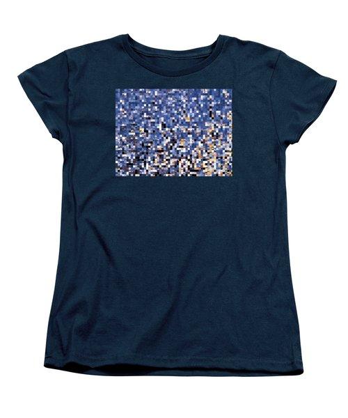 Digital Sunset Women's T-Shirt (Standard Cut) by Nina Ficur Feenan