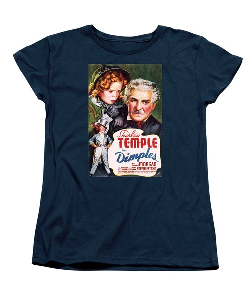 Dimples Women's T-Shirt (Standard Cut) by Movie Poster Prints