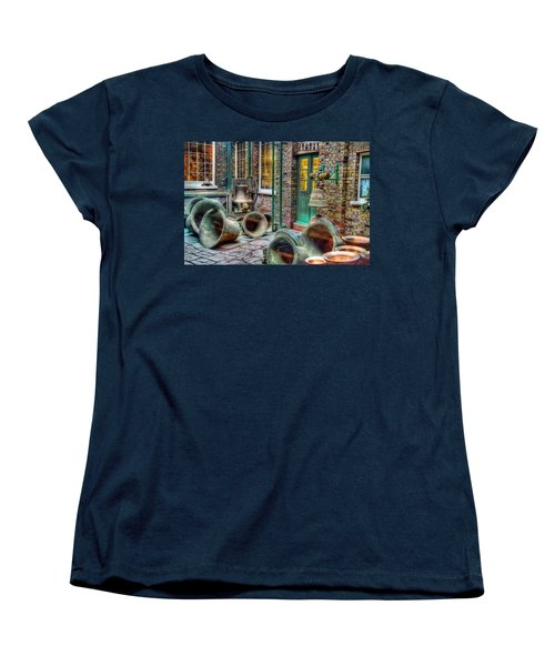Women's T-Shirt (Standard Cut) featuring the photograph Ding Dong Hosiptal by Ron Shoshani