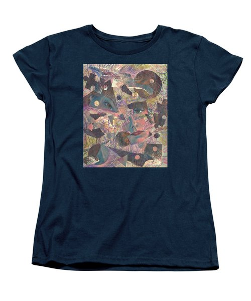 Distraction A Self Portrait Women's T-Shirt (Standard Cut) by Melinda Dare Benfield