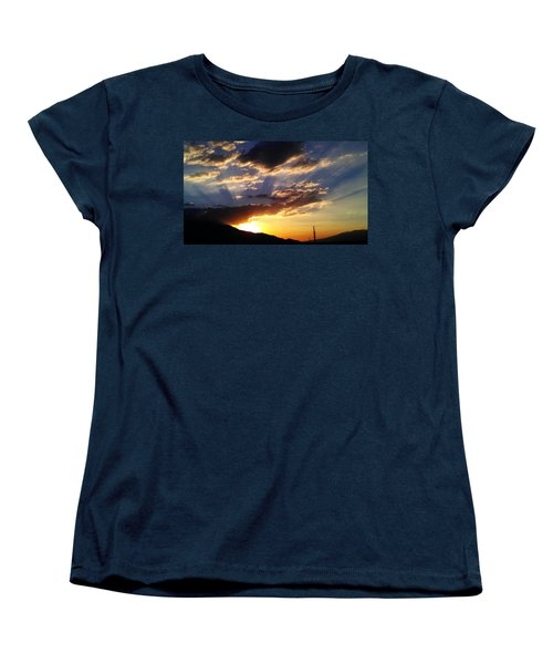 Divine Sunset Women's T-Shirt (Standard Cut)