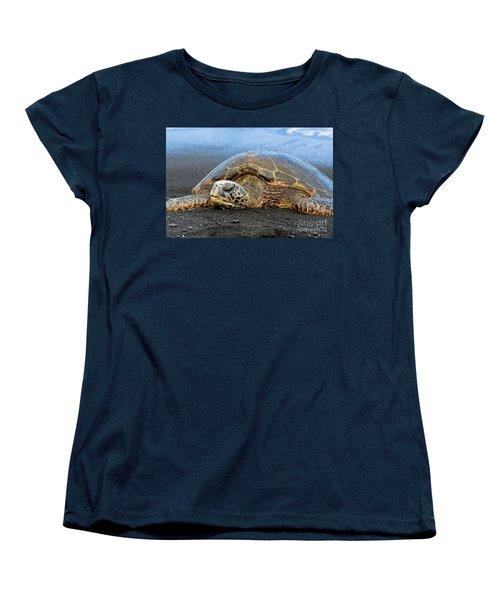 Do Not Disturb Women's T-Shirt (Standard Cut) by David Lawson