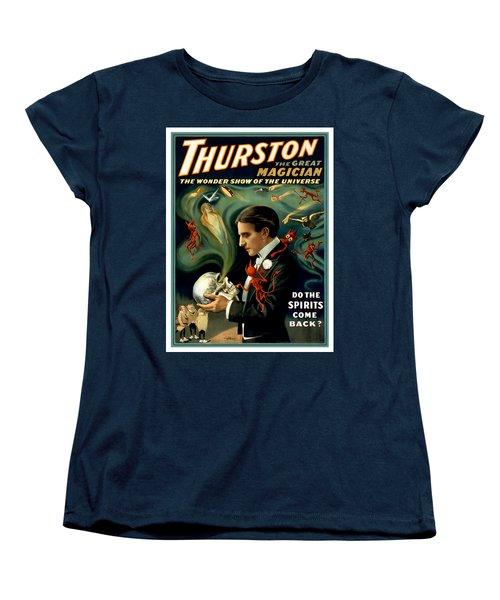 Do The Spirits Come Back Women's T-Shirt (Standard Cut) by Terry Reynoldson