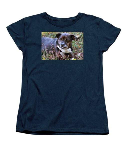 Women's T-Shirt (Standard Cut) featuring the photograph Dogg by Bonnie Willis