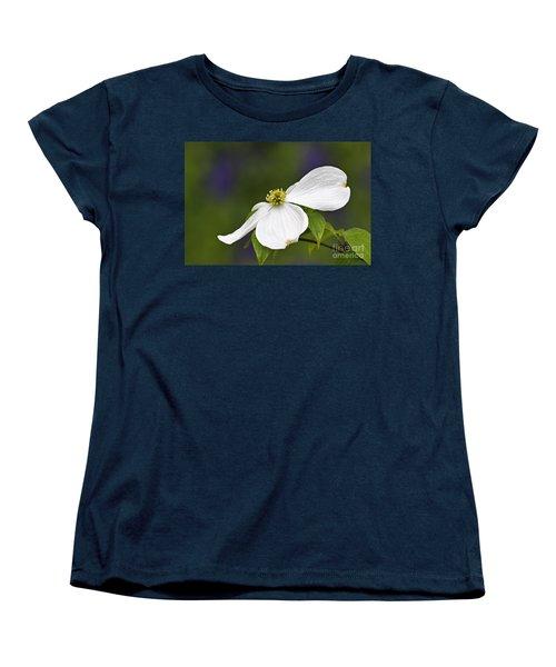 Dogwood Blossom - D001797 Women's T-Shirt (Standard Cut) by Daniel Dempster