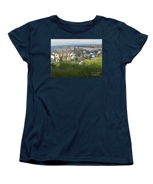 Donaghadee Northern Ireland View From The Moat Women's T-Shirt (Standard Cut) by Brenda Brown