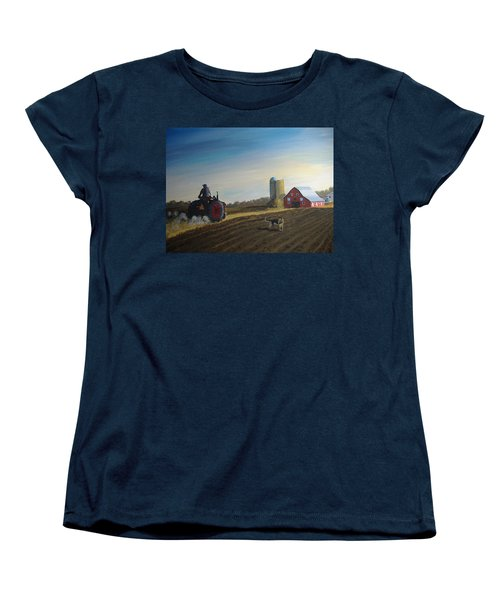 Done For The Day Women's T-Shirt (Standard Cut) by Norm Starks
