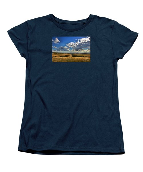 Donny Brook Hills Women's T-Shirt (Standard Cut) by Joy Watson