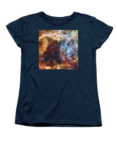 Doradus Nebula Women's T-Shirt (Standard Cut) by Barry Jones