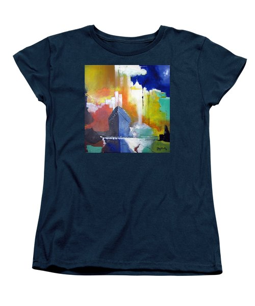 Down The Hudson Women's T-Shirt (Standard Cut) by Gary Smith