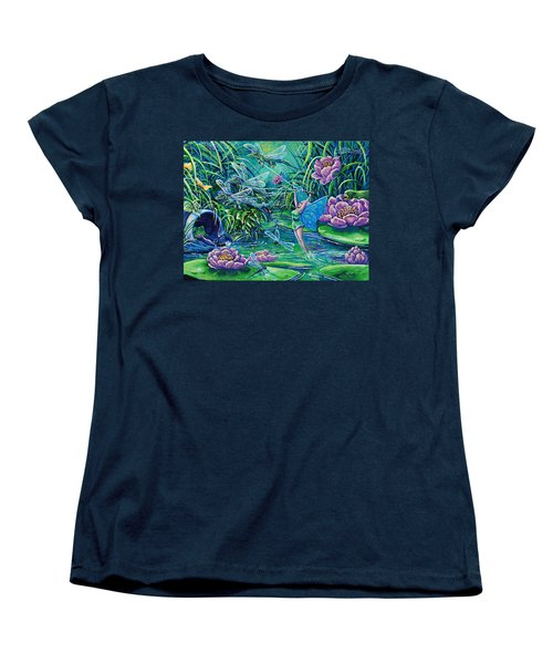 Dragonflies Women's T-Shirt (Standard Cut) by Gail Butler