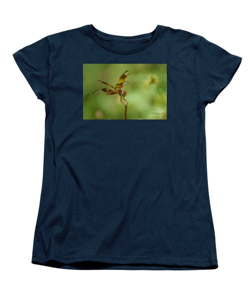 Women's T-Shirt (Standard Cut) featuring the photograph Dragonfly 2 by Olga Hamilton