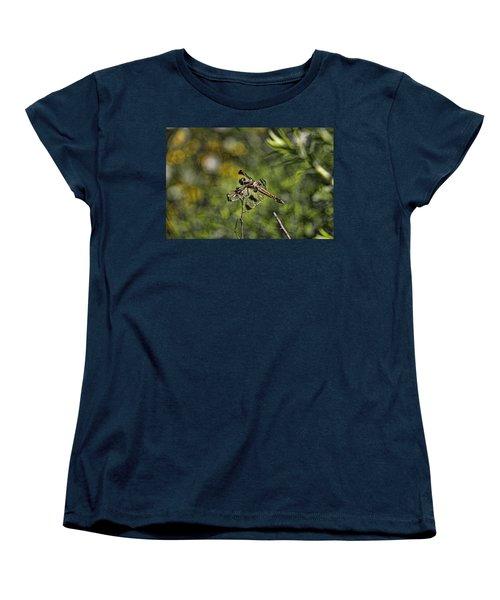 Dragonfly Women's T-Shirt (Standard Cut) by Daniel Sheldon