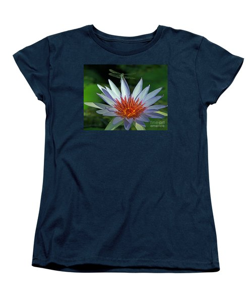 Dragonlily Women's T-Shirt (Standard Cut) by Larry Nieland