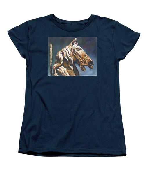 Dream Racer Women's T-Shirt (Standard Cut) by Lori Brackett