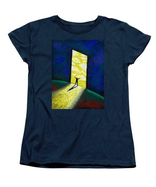 Discovery Women's T-Shirt (Standard Cut) by Leon Zernitsky