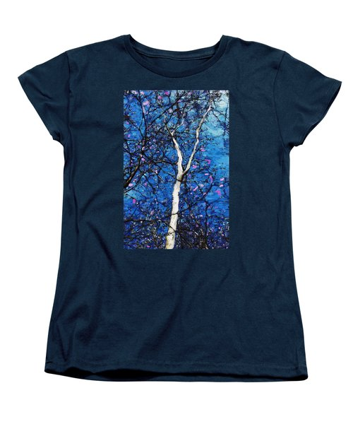 Women's T-Shirt (Standard Cut) featuring the digital art Dreaming Of Spring by David Lane