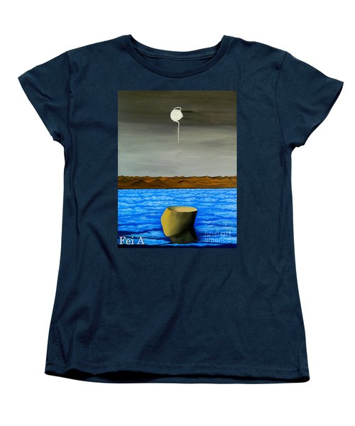 Dry-land Culture Women's T-Shirt (Standard Cut) by Fei A