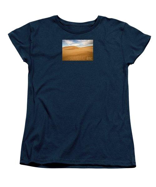 Dunescape Women's T-Shirt (Standard Cut) by Alice Cahill
