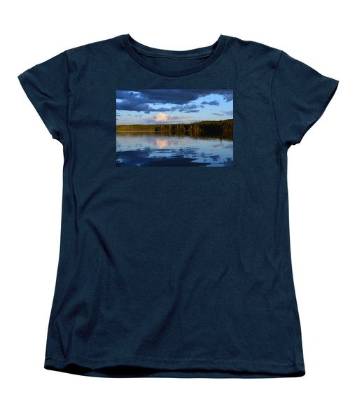 Dusk After A Storm Women's T-Shirt (Standard Cut) by David Porteus