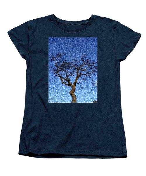Dynamic Dawn Women's T-Shirt (Standard Cut) by Anne Mott