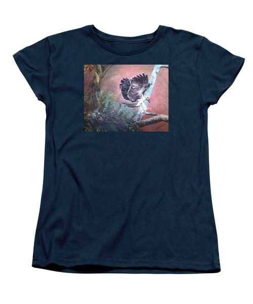 Eagle Light Women's T-Shirt (Standard Cut) by Mary Ellen Anderson