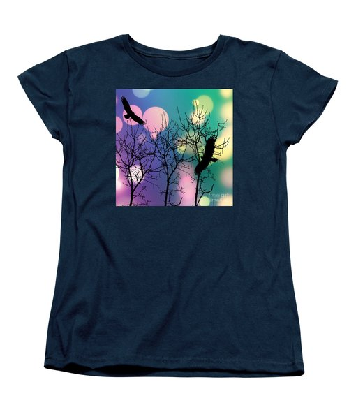 Eagle Rebirth Light Women's T-Shirt (Standard Cut) by Kim Prowse