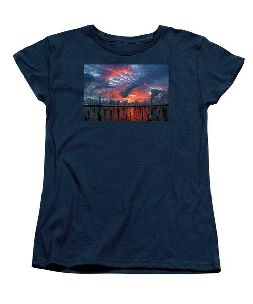 Early Dawns Light Women's T-Shirt (Standard Cut) by Roger Becker