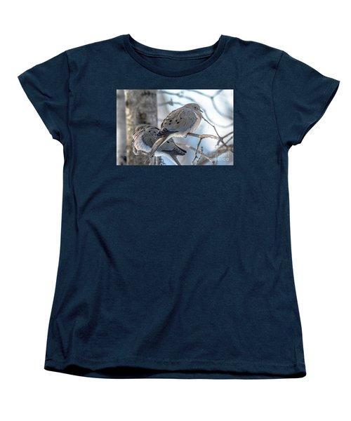 Early Mourning Women's T-Shirt (Standard Cut) by Cheryl Baxter