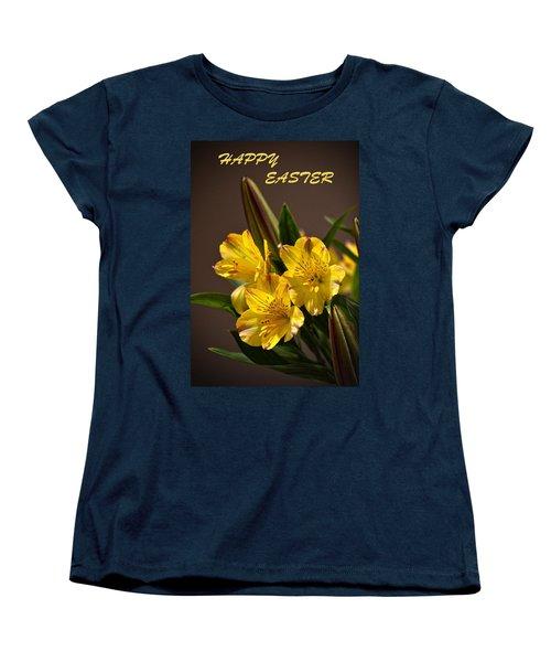 Easter Lilies Women's T-Shirt (Standard Cut) by Sandi OReilly