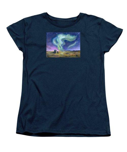 Echoes In The Sky Women's T-Shirt (Standard Cut) by Retta Stephenson