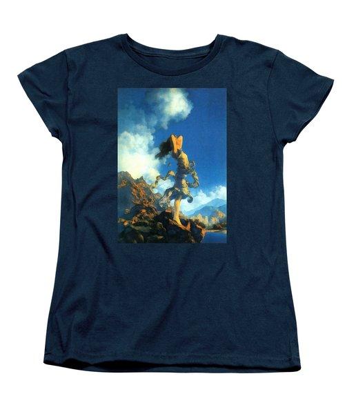 Ecstasy Women's T-Shirt (Standard Cut) by Maxfield Parrish