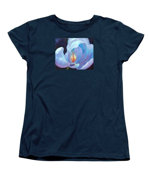Women's T-Shirt (Standard Cut) featuring the painting Ecstasy by Sandi Whetzel