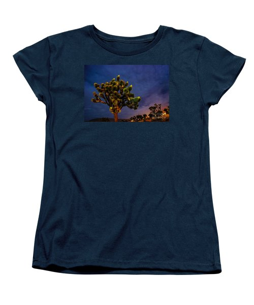 Edge Of Town Women's T-Shirt (Standard Cut) by Angela J Wright