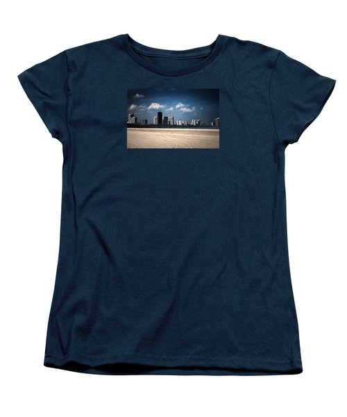 Women's T-Shirt (Standard Cut) featuring the photograph Edgewater by Milena Ilieva