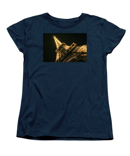 Eiffel Women's T-Shirt (Standard Cut) by Silvia Bruno