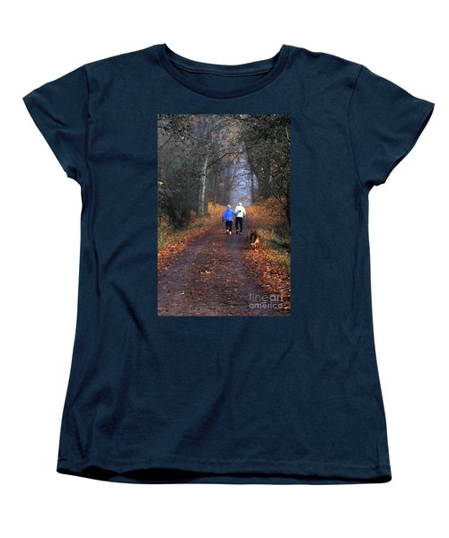 Eighty Four And Eight Six Women's T-Shirt (Standard Cut) by Barbara McMahon
