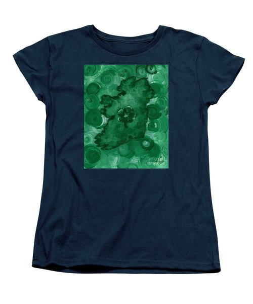 Eire Heart Of Ireland Women's T-Shirt (Standard Cut) by Alys Caviness-Gober