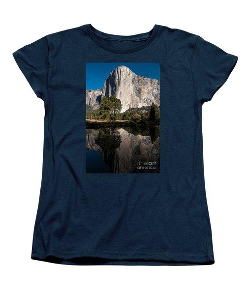 El Capitan In Yosemite 2 Women's T-Shirt (Standard Cut) by Terry Garvin