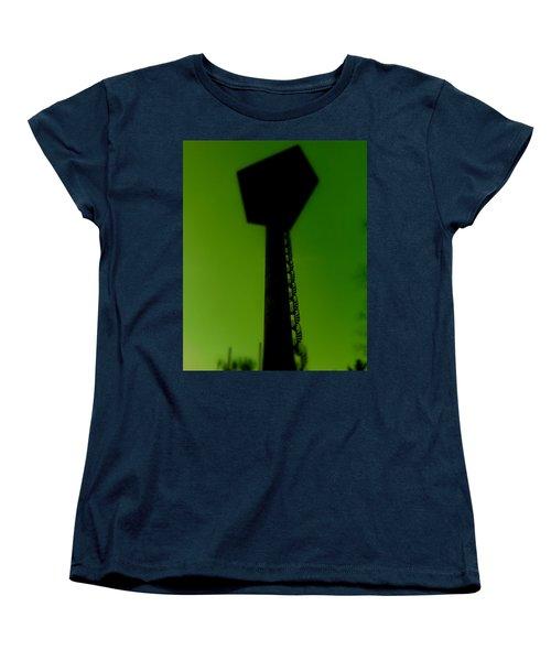 Women's T-Shirt (Standard Cut) featuring the photograph Elastic Concrete Part Four by Sir Josef - Social Critic - ART