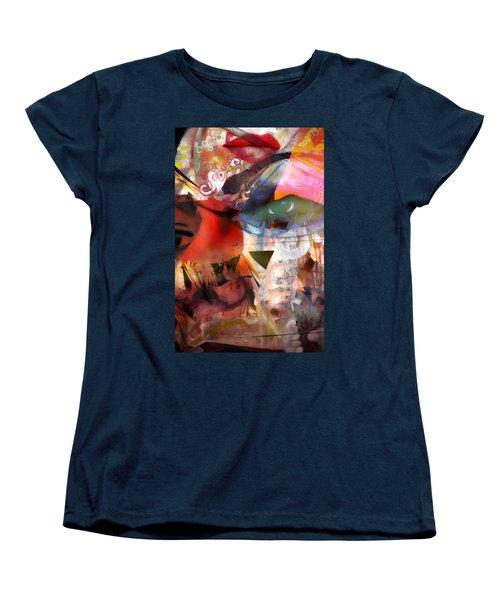 Elements Of Estrogen  Women's T-Shirt (Standard Cut) by Jerry Cordeiro
