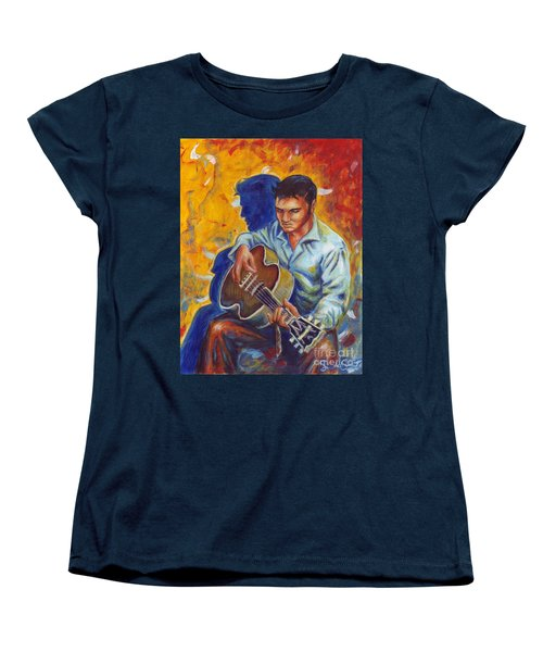 Elvis Presley Women's T-Shirt (Standard Cut) by Samantha Geernaert