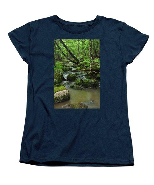 Emerald Forest Women's T-Shirt (Standard Cut) by Glenn Gordon